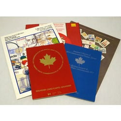 canada post annual stamp collections