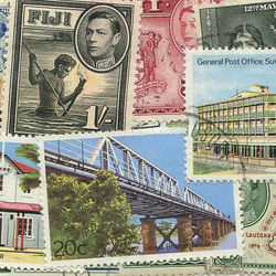 world stamp packets countries in f