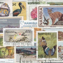 world stamp packets countries in n