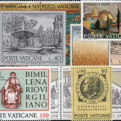 world stamp packets countries in v