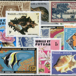 world stamp packets countries in w