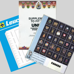 annual supplements for canada stamp albums