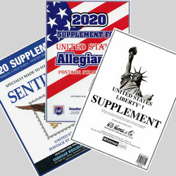 annual supplements for u s stamp albums
