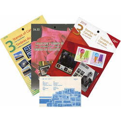 canada stamps quarterly packs