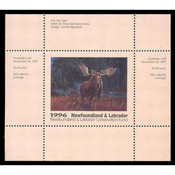newfoundland labrador conservation fund stamps
