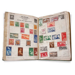world stamp collections and accumulations
