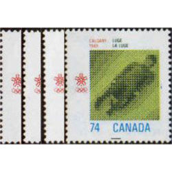 canada stamp 1195 8 1988 olympic winter games 1988