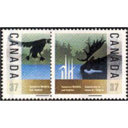 Canada stamp 1204 5 wildlife conservation 1988