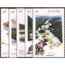 canada stamp 1321 5 heritage rivers 1 1991