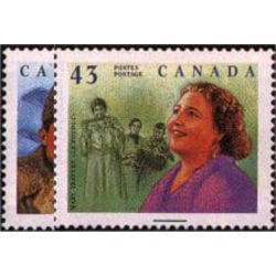 canada stamp 1525 6 great canadians 1994