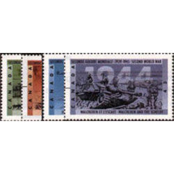 canada stamp 1537 40 second world war 1944 1994