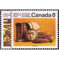 Canada stamp 570 1 pacific coast indians 1974