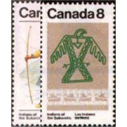 canada stamp 576 7 subarctic indians 1975