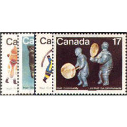 canada stamp 835 8 inuit shelter and community 1979