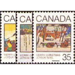 canada stamp 870 2 christmas greeting cards 1980