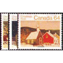 Canada stamp 1004 6 christmas 1983