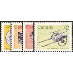 Canada stamp 1080 3 artifact definitives 1987