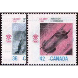Canada stamp 1130 1 1988 olympic winter games 1987