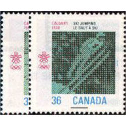 Canada stamp 1152 3 1988 olympic winter games 1987