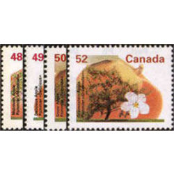 canada stamp 1363 6 fruit tree definitives