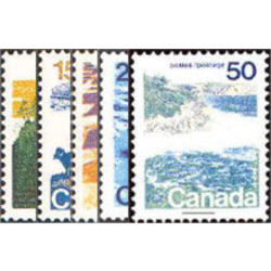 canada stamp 594 98 landscape definitives 1972