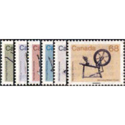 canada stamp 927 933 medium value artifact definitives