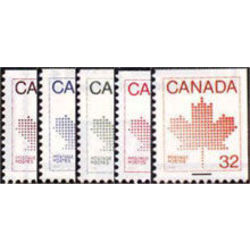 canada stamp 940 943 6 booklet stamps