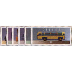 canada stamp 1527a f historic public service vehicles 2 1994