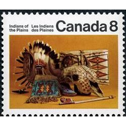 canada stamp 563 plains artifacts 8 1972