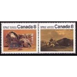 canada stamp 563b plains indians 2x8 1972