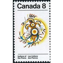 canada stamp 565 sun dance costume 8 1972