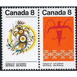 canada stamp 565a plains indians 1972