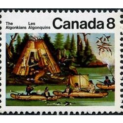 canada stamp 567 micmac indians 8 1973