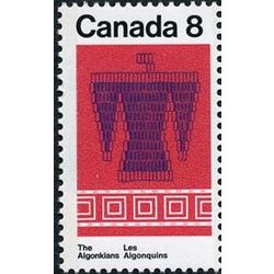 canada stamp 568 thunderbird and belt 8 1973