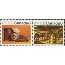 Canada stamp 571a pacific coast indians 1974
