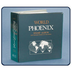 phoenix world stamp album
