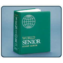 senior world stamp album