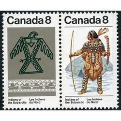 canada stamp 577a subarctic indians 1975
