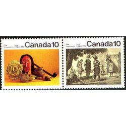 canada stamp 579a iroquoian indians 1976