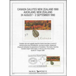 new zealand 1990 expo card