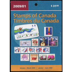 canada quarterly pack 2009 01