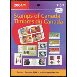 canada quarterly pack 2004 04