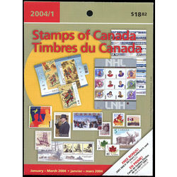 canada quarterly pack 2004 01