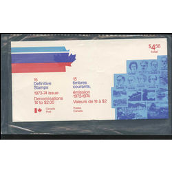 canada definitives pack 1973 1974