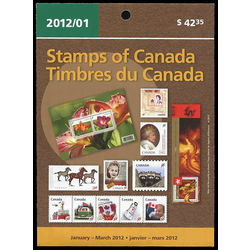 canada quarterly pack 2012 01