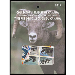 Canada quarterly pack 2003 01
