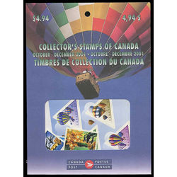 canada quarterly pack 2001 04