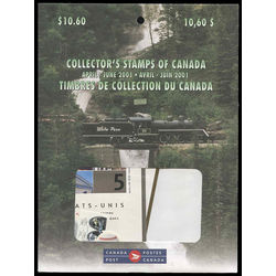 canada quarterly pack 2001 02