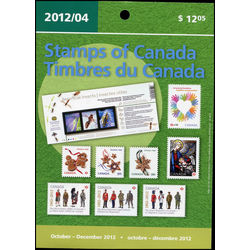 canada quarterly pack 2012 04