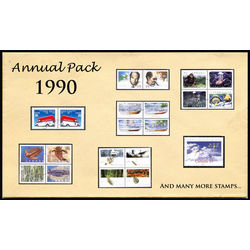 canada complete year set 1990 mint
